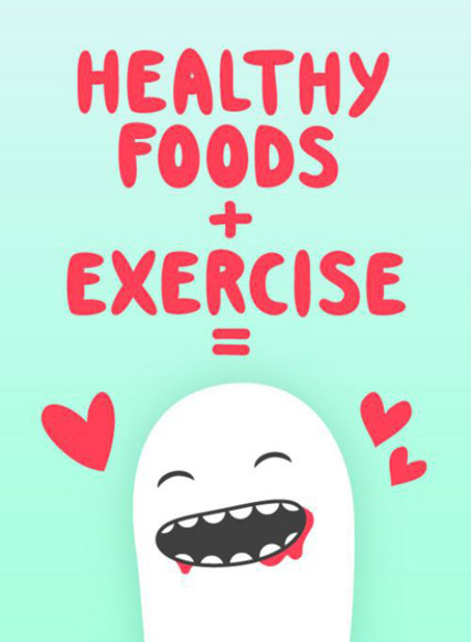 healthy-foods-exercise-happy monster